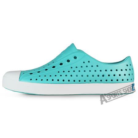 NATIVE (女) 奶油頭 懶人鞋 藍-001004253