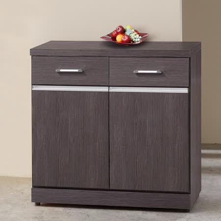 《Homelike》亞迪2.7尺收納餐櫃