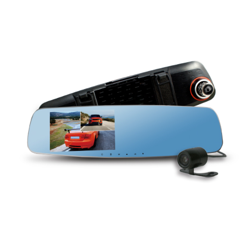 transitions 行車紀錄器CARSCAM行車王 CR10 190度WDR雙鏡頭行車記錄器