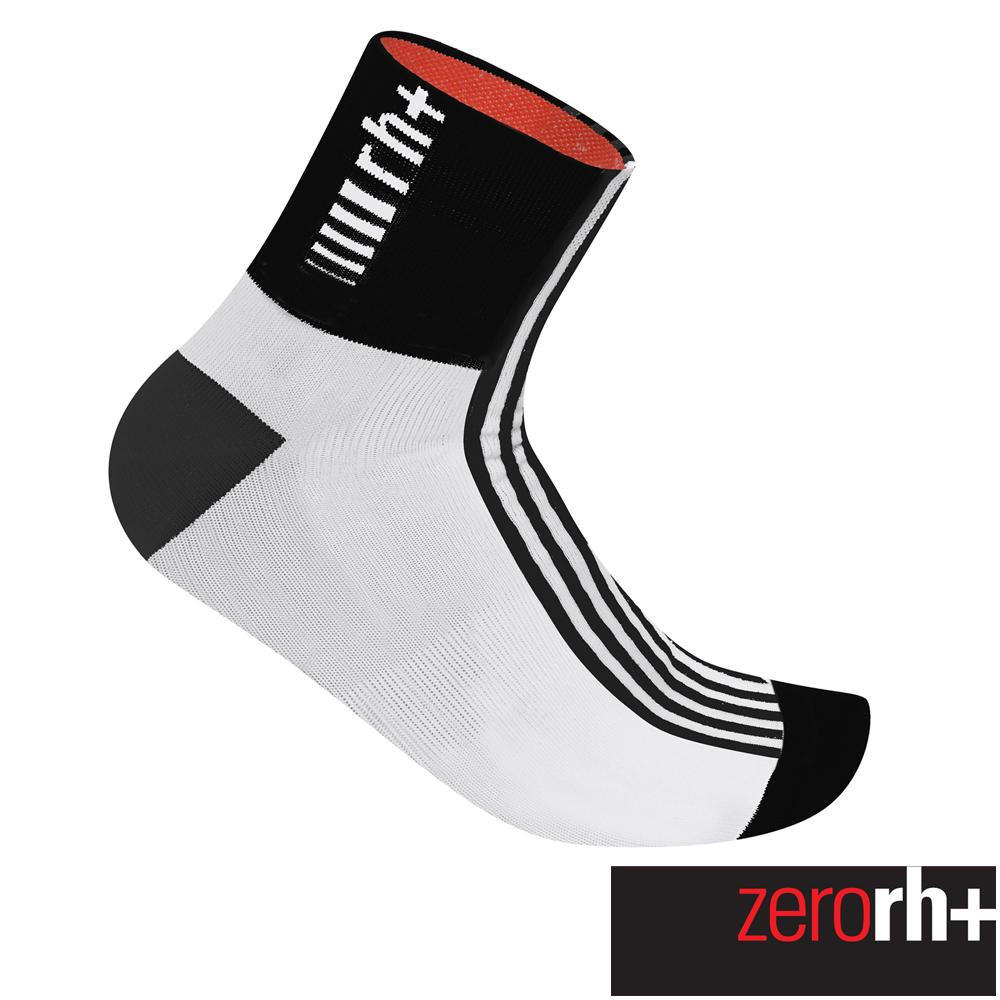 ZeroRH 義大利FUEGO中筒 襪^(9 cm^) ~黑白、螢光黃、白黑~ ECX90