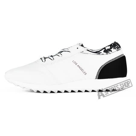 ADIDAS (女) 愛迪達 LOS ANGELES W 休閒鞋 黑/白-S78915