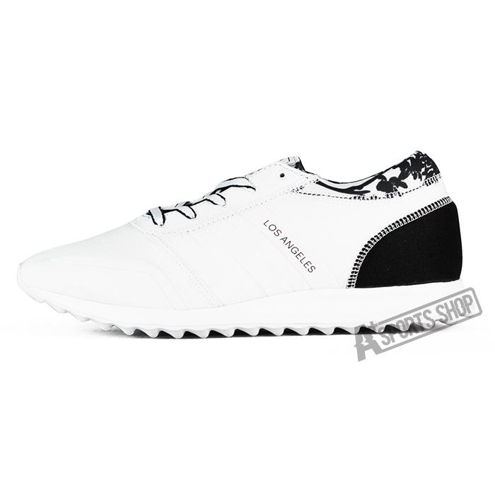 ADIDAS ^(女^) 愛迪達 LOS ANGELES W 休閒鞋 黑白~S78915