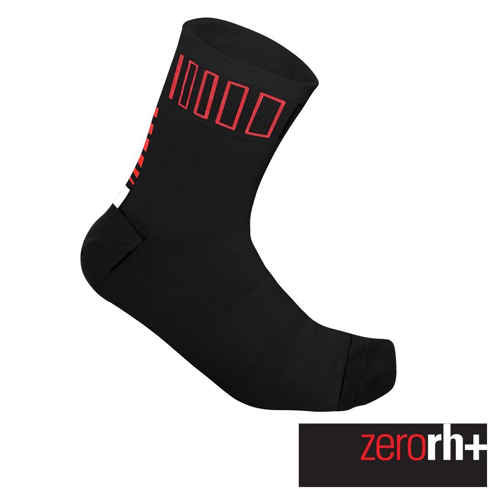 ZeroRH 義大利SPRINT中筒 襪^(9 cm^) ~黑紅、黑螢光黃~ ECX908
