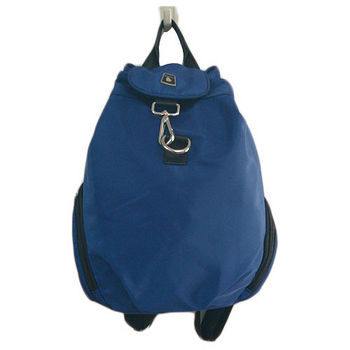 雙肩束口後背包(藍)