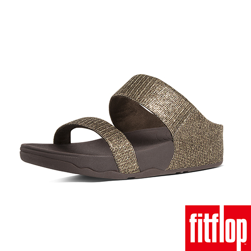FitFlop™- (女款)LULU™ SUPERGLITZ SLIDE-紅銅色