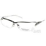 Masaki Matsushima 眼鏡  β 鈦金屬系列款(銀-白) #MFP534 C01
