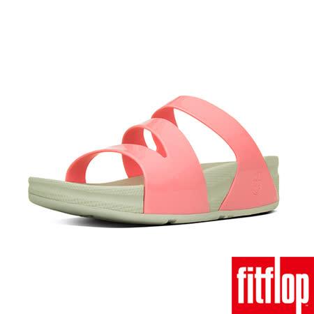 FitFlop™- (女款)SUPERJELLY™ TWIST-橘粉色