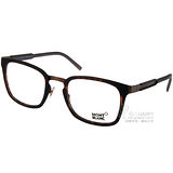 MONT BLANC光學眼鏡 高端精品百搭款(霧琥珀-霧銅) #MB612 C052