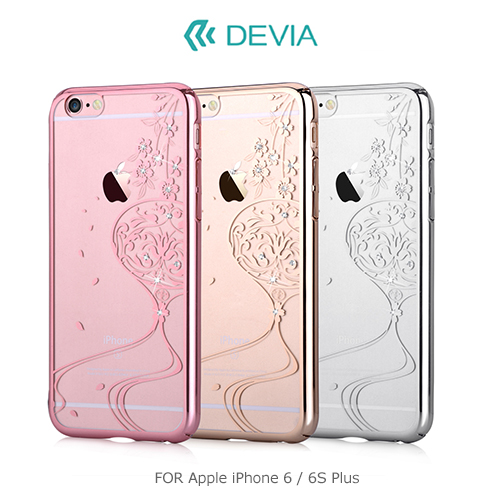 DEVIA Apple iPhone 6/6S Plus 晶彩保護殼(舞動)