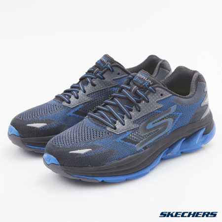 SKECHERS (男) 跑步系列 GO Run Ultra R - 54005BKBL