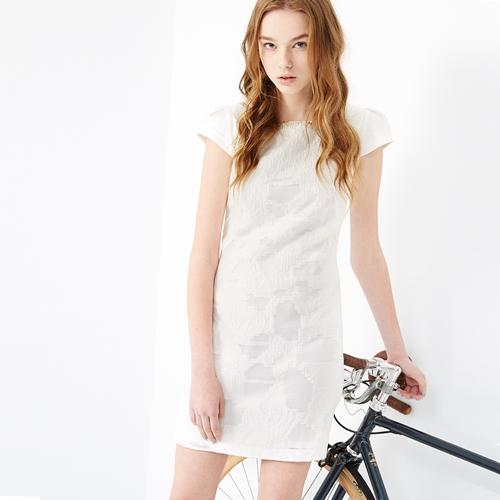 ICHE 衣哲 立體管珠造型洋裝
