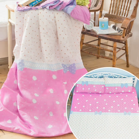 J-bedtime【心動】3M吸濕排汗防蹣抗菌雙人四件式涼被床包組