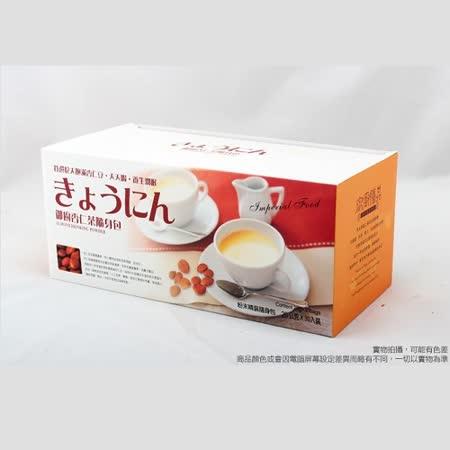 【御廚膳品】潤喉杏仁茶600g(無糖口味,隨身包30入)--6 盒組