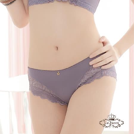 LaQueen  魔戀花舞機能性超包覆內褲(藍灰)_品特匯
