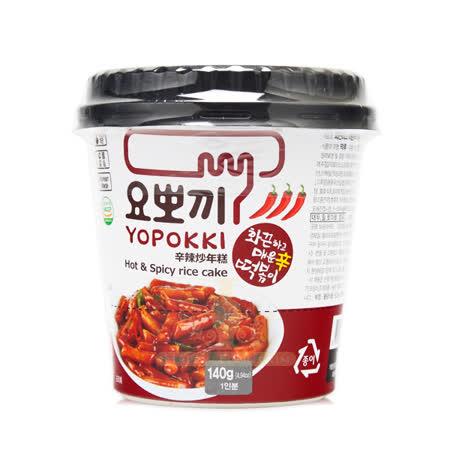 韓國 Yopokki 辣炒年糕微波即食杯(辛辣) 120g