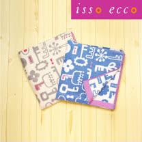 【クロワッサン科羅沙】日本ISSO ECCO今治(imabari towel)~無撚花鎖浴巾70x140cm,二色可選
