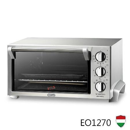 義大利 DeLonghi迪朗奇 12公升旋風式烤箱 EO1270
