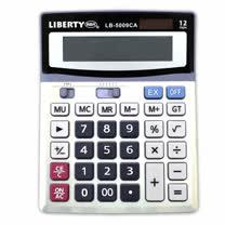 【LIBERTY】精算達人-桌上型12位數計算機