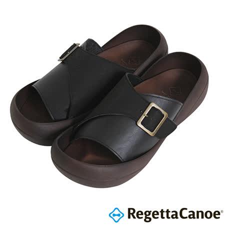 RegettaCanoe _(男款)CJBF-5143優雅樂步休閒鞋-經典黑