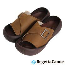 RegettaCanoe _(男款)CJBF-5142優雅樂步休閒鞋-褐色