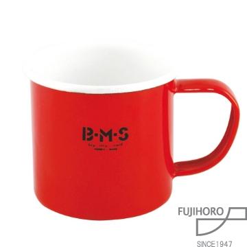 ~富士琺瑯FUJIHORO~紅色琺瑯杯^(6入組^) BM~7MG.R
