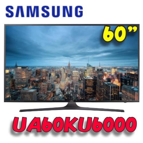 三星 SAMSUNG 60型4K UHD智慧型液晶電視(UA60KU6000/UA60KU6000WXZW)