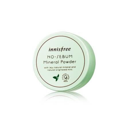 韓國 innisfree 無油光天然薄荷礦物控油蜜粉(5g)
