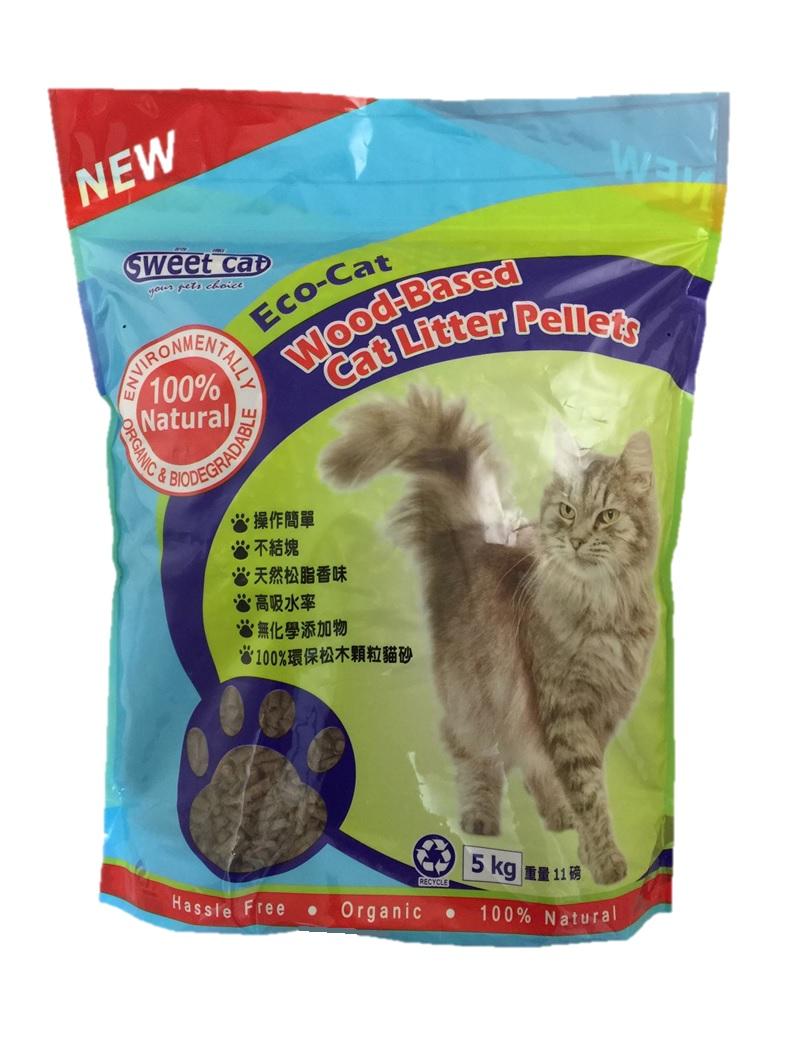 ~Sweet Cat~100^%南非松木砂 貓砂 ^(5kg^) 天然貓沙 環保