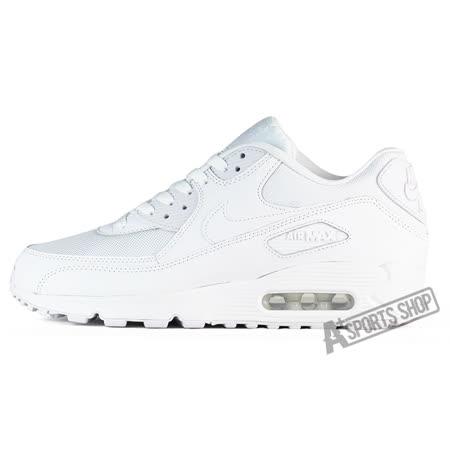 NIKE (男) 耐吉 NIKE AIR MAX 90 ESSENTIAL 休閒鞋 白-537384111