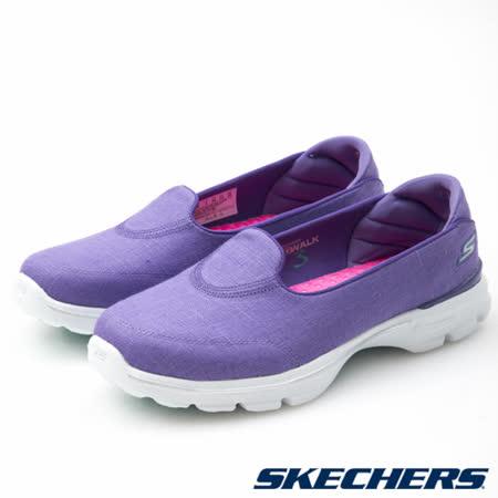 SKECHERS (女) 健走系列 GO Walk 3 - 14044PUR