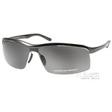 Porsche Design太陽眼鏡 個性運動款(黑) #PO8494 A