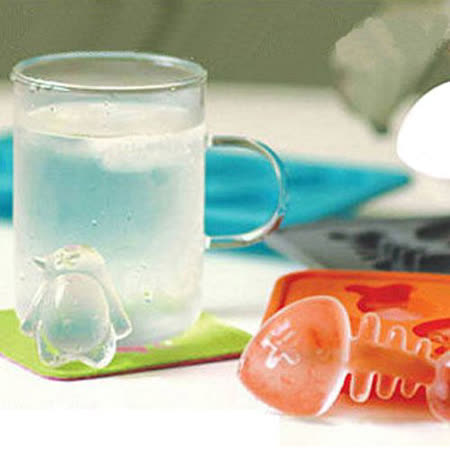 【PS Mall】 魚骨頭造型冰塊模/製冰器~ 來點不一樣的冰塊 清涼一下吧 (J072)