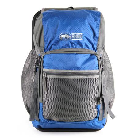 犀牛RHINO 22公升椅子背包-灰藍