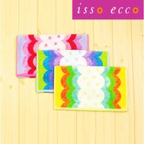 【クロワッサン科羅沙】日本ISSO ECCO今治(imabari towel)~無撚水玉波紋毛巾 34*80cm