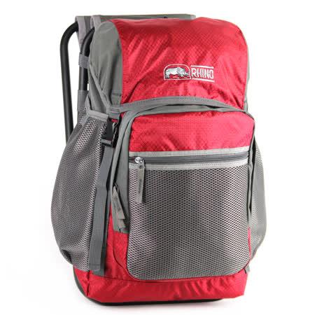 犀牛RHINO 22公升椅子背包-紅