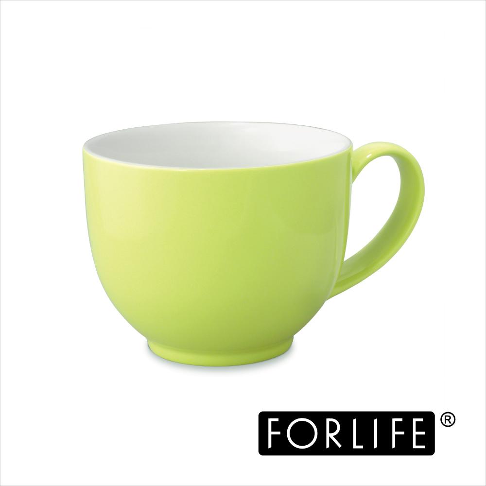 ~美國FORLIFE~QQ可愛茶杯^(附把手^)295ml ~ 漾果綠^(兩入組^)