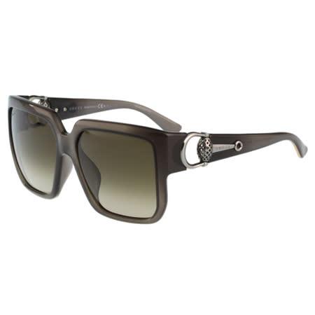 GUCCI- 時尚金球 太陽眼鏡 (深灰色)