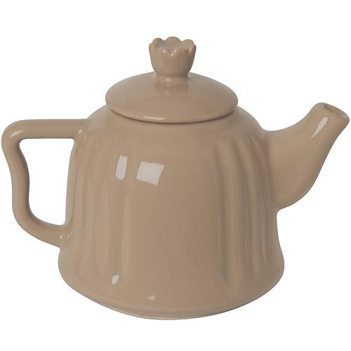 ~EXCELSA~Chic陶製茶壺^(淺棕0.6L^)