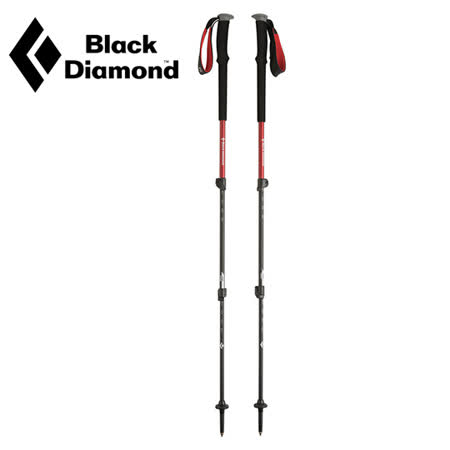 【美國Black Diamond】Trail Trek Polcs泡棉鎖定登山杖 (63.5-140cm 一對)