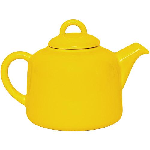 ~EXCELSA~陶製茶壺^(黃0.55L^)