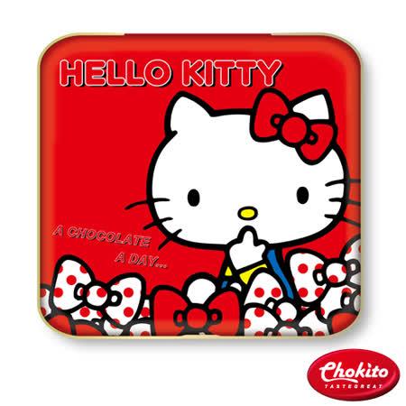 巧趣多凱蒂貓比利時黑巧克力紅New-60g