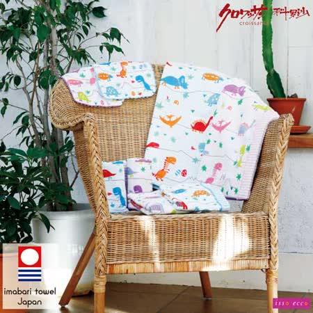 【クロワッサン科羅沙】日本ISSO ECCO今治(imabari towel)~棉紗恐龍世界毛巾 34*80cm