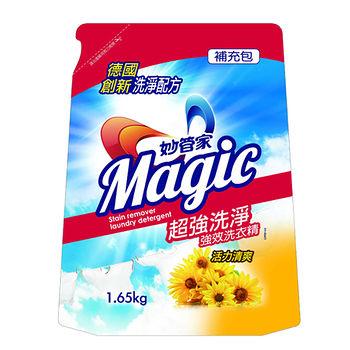 妙管家強效洗衣精補充包-清爽1650g