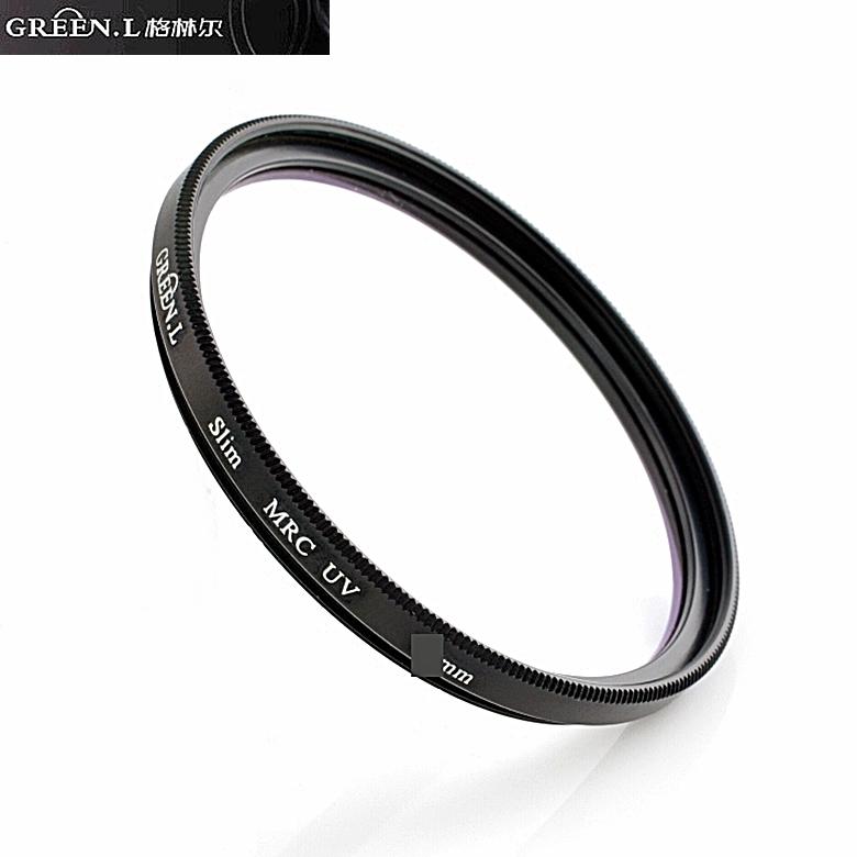 GREEN.L超薄框16層多層膜46mm濾鏡46mm保護鏡MC~UV保護鏡MCUV濾鏡