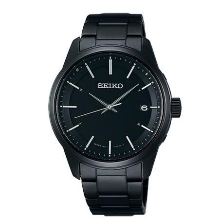 SEIKO 簡約時尚太陽能電波男用腕錶-40mm/7B24-0BJ0SD(SBTM235J)