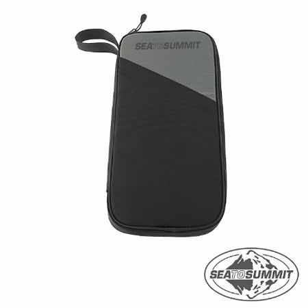 SEATOSUMMIT RFID旅行安全錢包(L)(黑色)