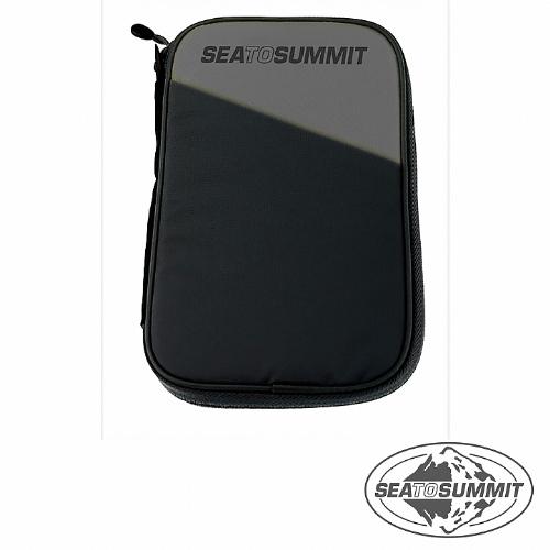 SEATOS愛 買 豐原UMMIT RFID旅行安全錢包(M)(黑色)