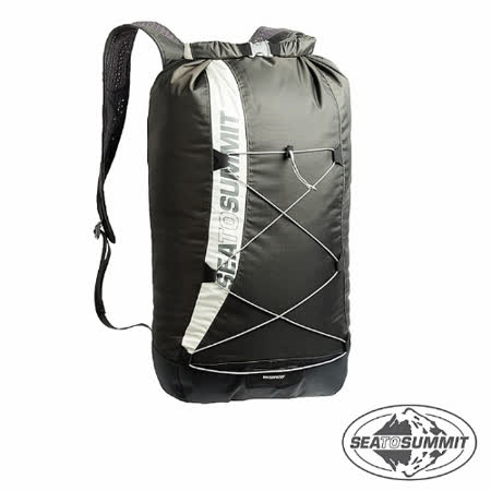 SEATOSUMMIT 210D防水耐磨日用背包(20L)(黑色)