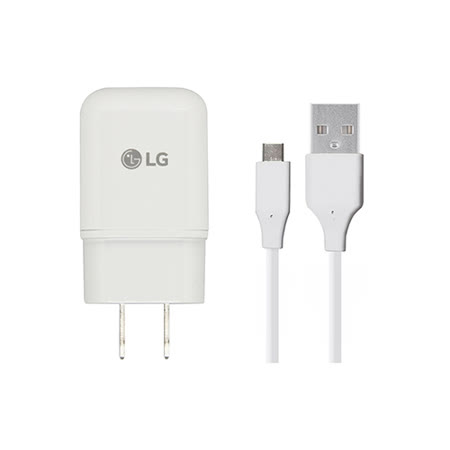 LG G5 原廠9V快速旅行充電器+ USB To Type-C傳輸充電線組 / hTC M10可用(台灣商檢-密封袋裝)