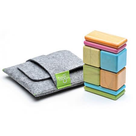 美國 Tegu 無毒安全磁性積木 - 口袋系列 經典款 (調色盤)